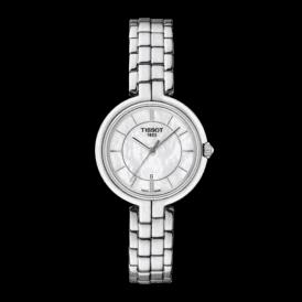 Ladies Tissot Flamingo bracelet watch T094 210 1111100