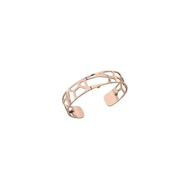 Les Georgettes 14mm rose gold plated Girafe bangle cuff 70261654000