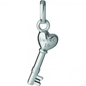 Links of London 16th Birthday Key Charm