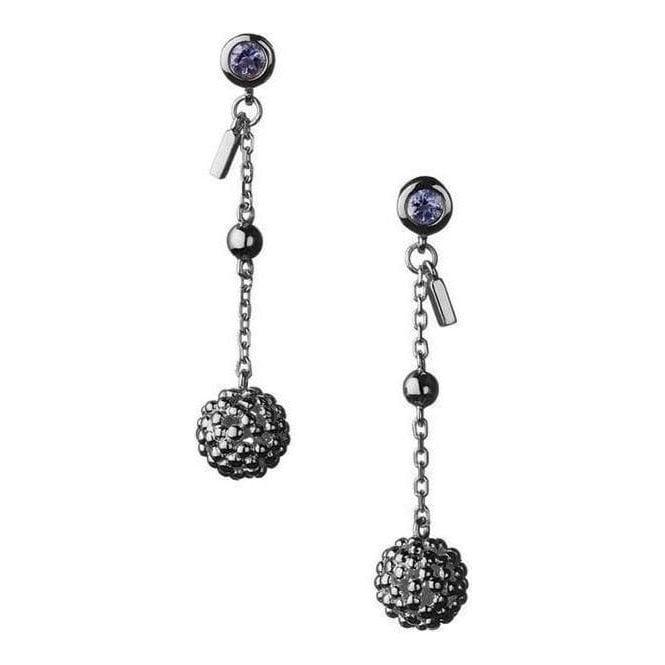 Links Of London Effervescence Silver Bubble Drop Earrings