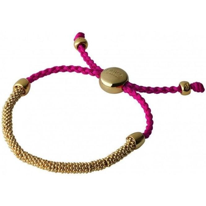 Links Of London Fuschia Friendship Bracelet RRP £120