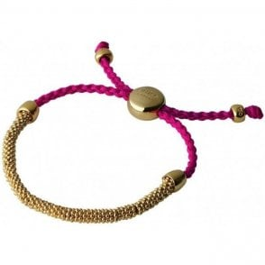 Links of London Fuschia Friendship Bracelet RRP £120