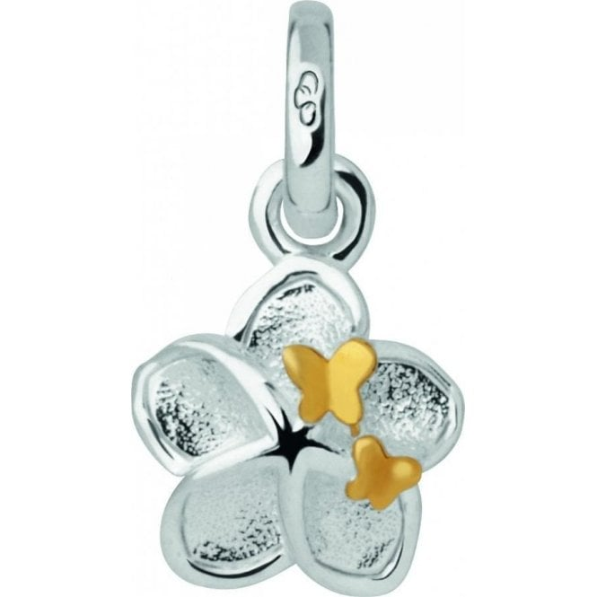 Links Of London Silver Mini Flower and Butterfly Charm 5030.1918