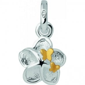 Links Of London Silver Mini Flower and Butterfly Charm