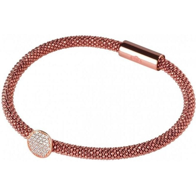 Links Of London Star Dust Sterling Silver & Rose Gold Bracelet