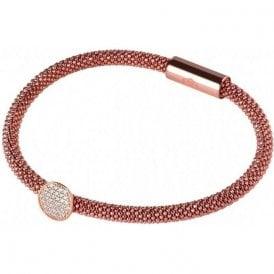 Links of London Star Dust Sterling Silver & Rose Gold Bracelet