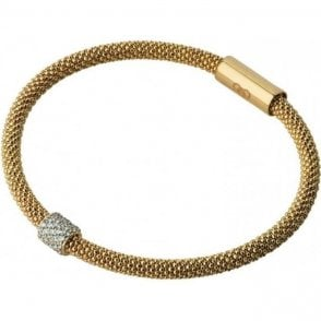 Links of London Star Dust Sterling Silver & Yellow Gold Bracelet