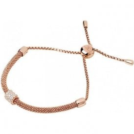Starlight 18kt Rose Gold Vermeil & Sapphire Bead Bracelet