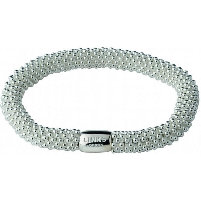 Links Of London Sterling Silver Effervescence Star Bracelet
