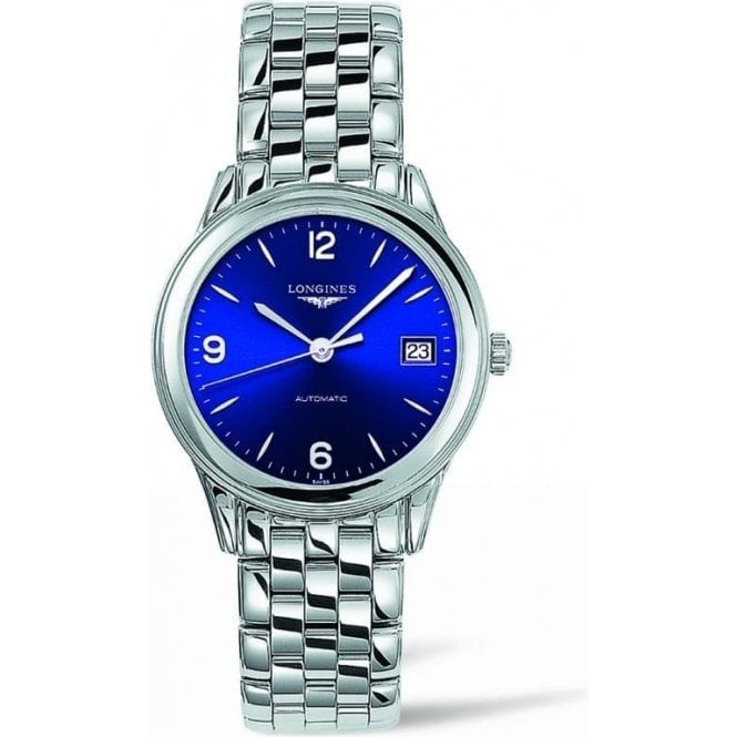 Longines Watches Longines Gents Flagship Heritage Blue Dial Watch