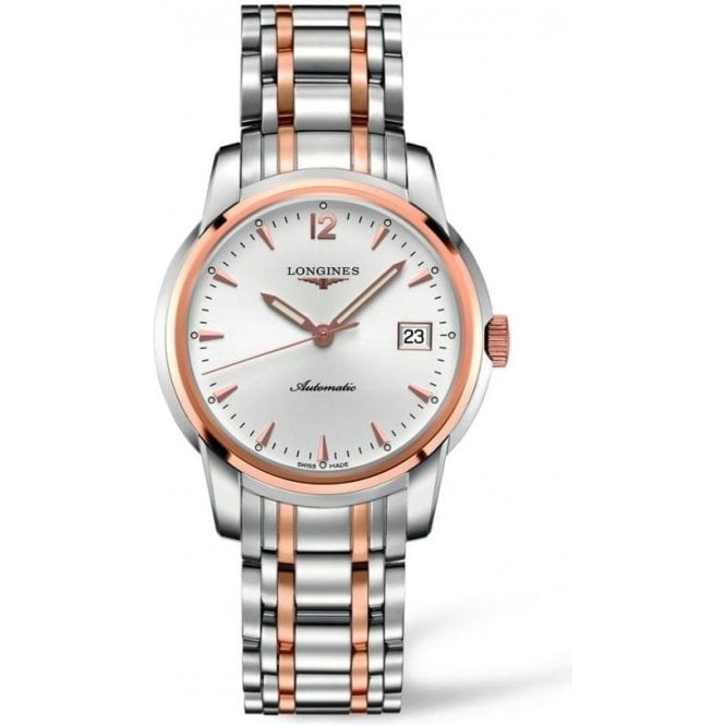 Longines Watches Longines Gents Steel and Rose Gold Saint-Imier Watch