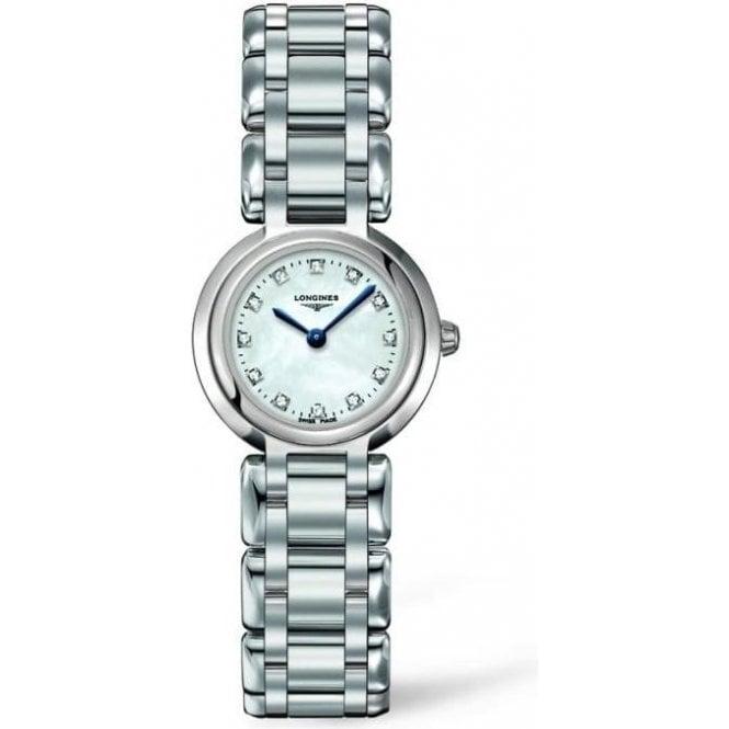 Longines Watches Longines Ladies PrimaLuna Diamond Set Dial Watch