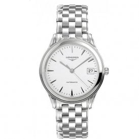 b0e0945f3a1 Longines Mens Automatic Flagship Watch L4.744.4.12.6