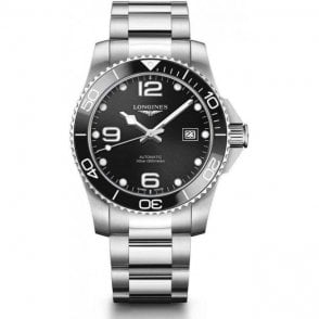 Longines steel HydroConquest Automatic Men's Watch