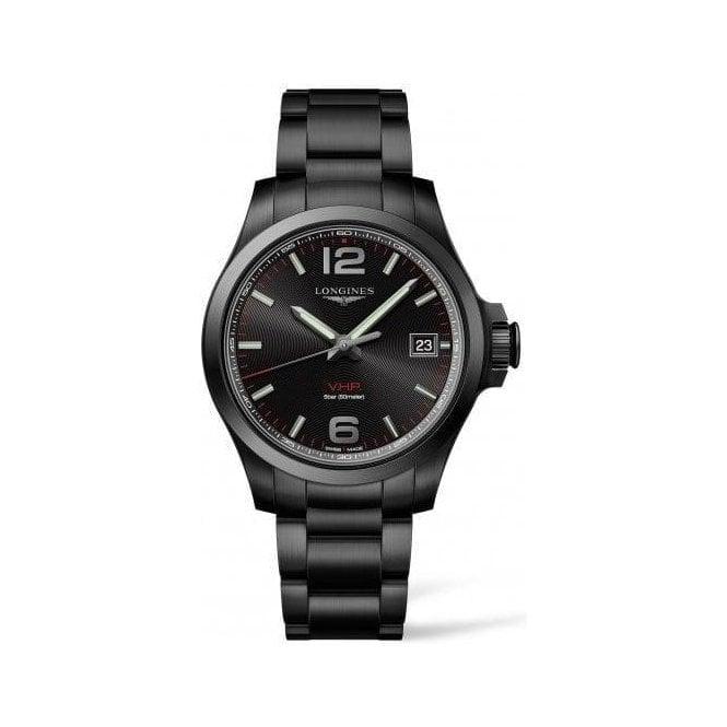 Longines Watches Black PVD Longines VHP quartz Perpetual calendar L3 716 2 566