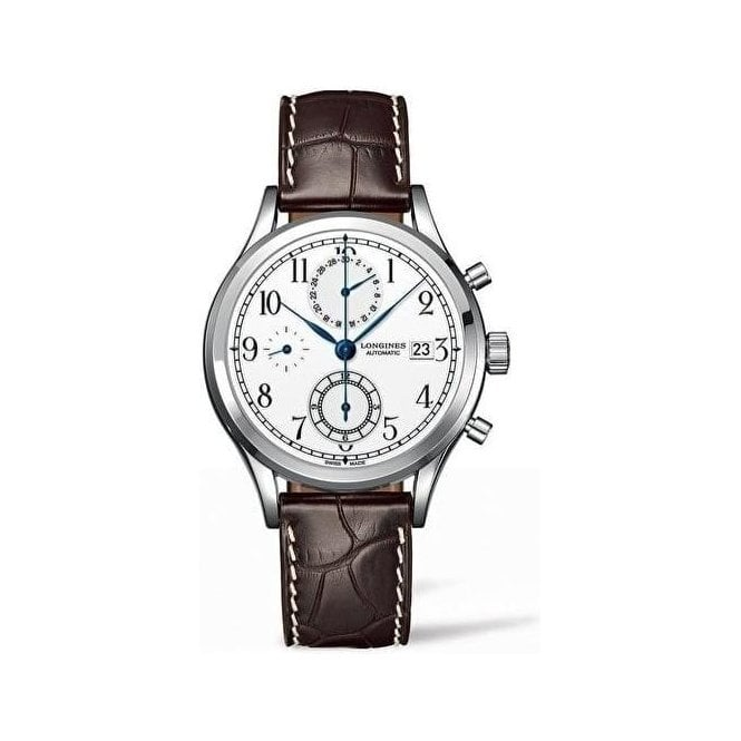 Longines Watches Gents Heritage Classic Chronograph L28154234