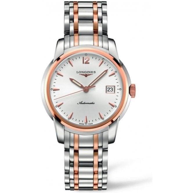 Longines Watches Gents steel and rose Saint-Imier bracelet watch L2 763 5 727
