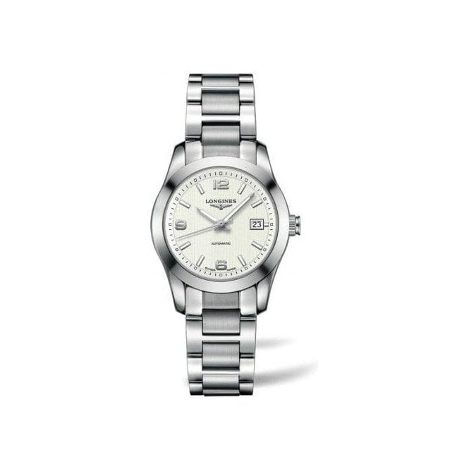 Longines Watches Ladies white dial Conquest Classic watch L2 285 4 766