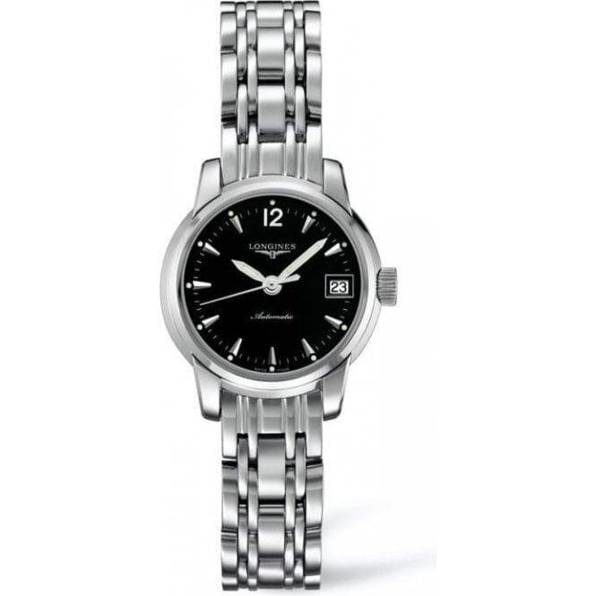 Longines Watches Longines Gents Black Dial Saint-Imier Automatic Watch