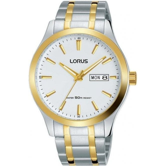 Lorus Gents Two Tone Watch