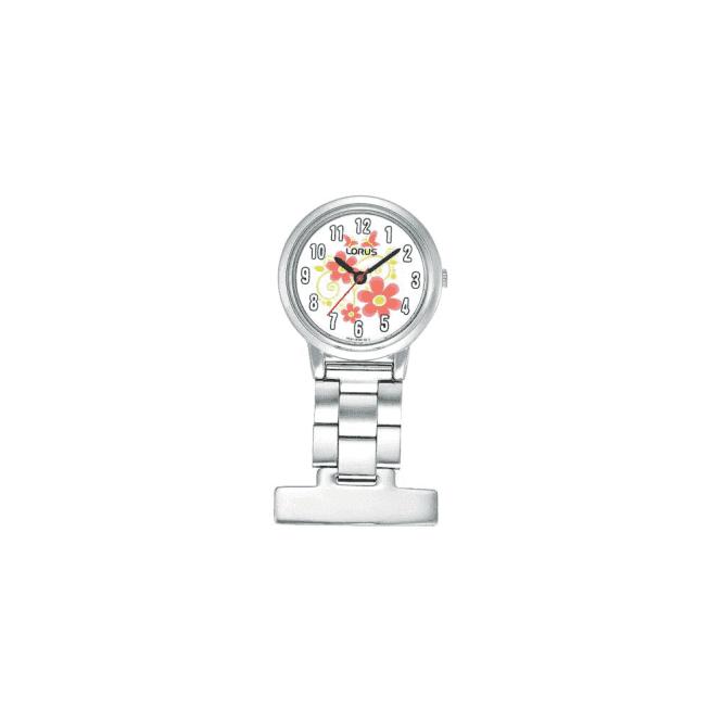 Lorus Nurses stainless steel Fob watch, RG237HX9