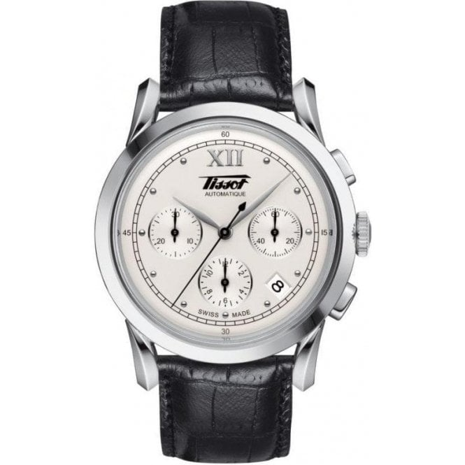 Tissot Watches Mens steel Tissot Heritage chronograph watch