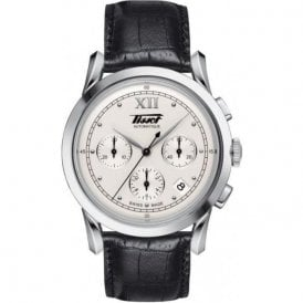 Mens steel Tissot Heritage chronograph watch