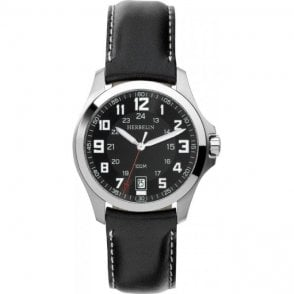Michel Herbelin Gents Stainless Steel Bachelor Strap Watch
