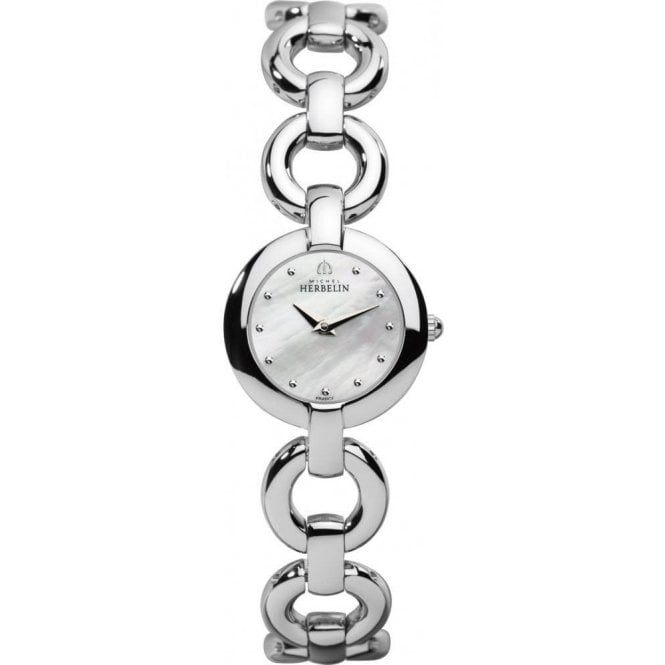 Michel Herbelin Watches Michel Herbelin Ladies Veglione Bracelet Watch 1747/B19