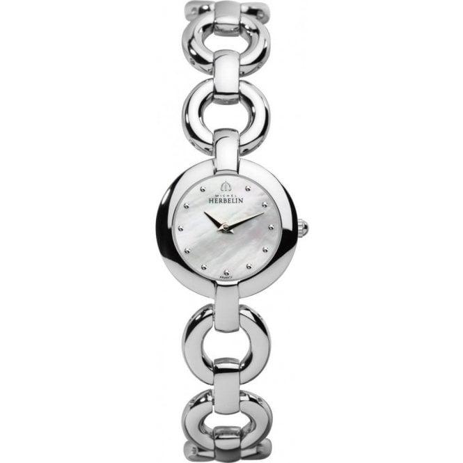 Michel Herbelin Watches Michel Herbelin Ladies Veglione Bracelet Watch 1747/B19