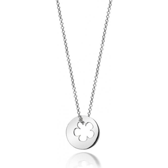 Molly Brown Silver Hope Open Flower Necklace