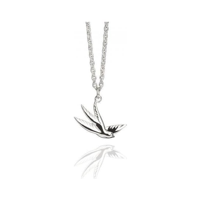Muru Jewellery Silver Swallow Pendant P242