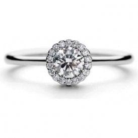 Platinum cluster ring