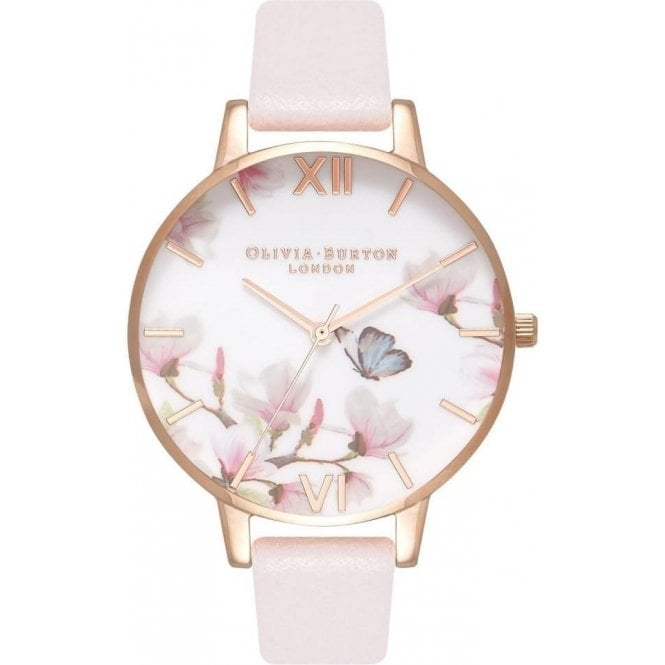 Olivia Burton Watches Pretty blossom & Rose gold watch