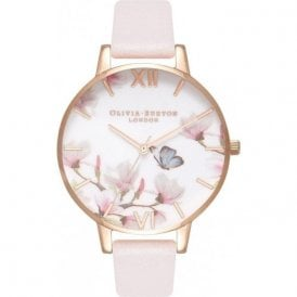 Pretty blossom & Rose gold watch