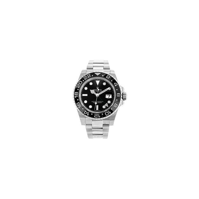Rolex Watches Gents steel Rolex Oyster Perpetual GMT Master 2 116710LN