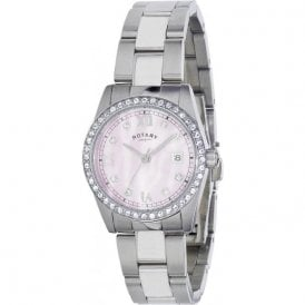 Rotary Ladies Stainless Steel Watch