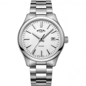 Oxford Silver Stainless Steel quartz watch GB0509202