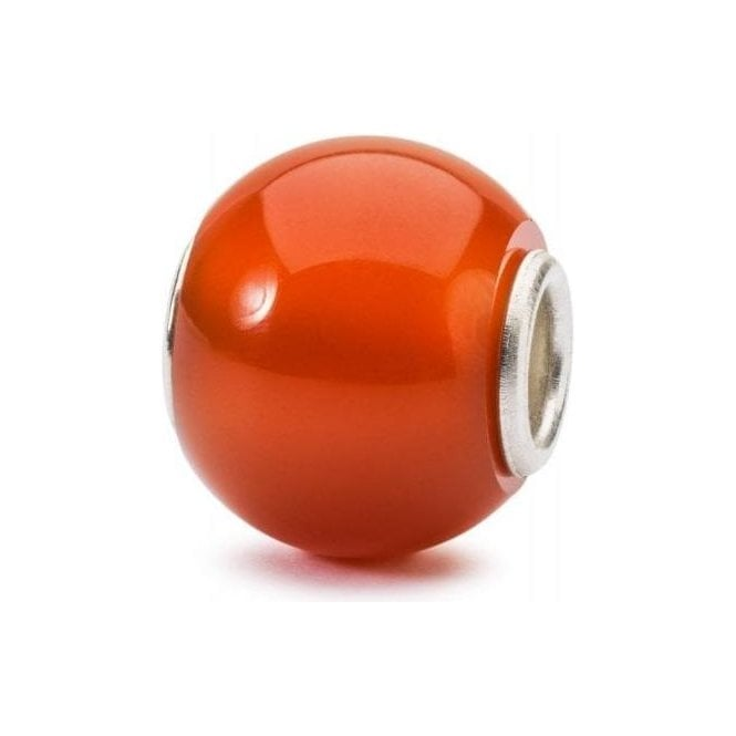 Trollbeads Round Red Onyx