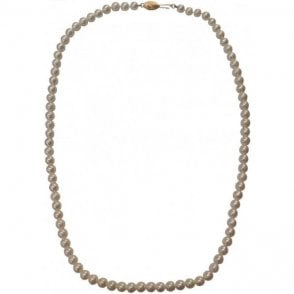 Second Hand 9ct Yellow Gold Pearl Necklace