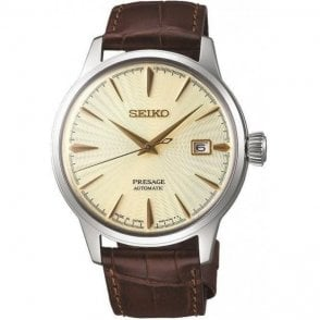 Gents steel Seiko Presage  model. SRPC99J1