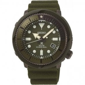 Seiko Propsex Solar Green Divers Watch