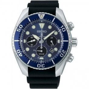 Seiko Prospex Sumo Solar Chronograph 200m Men's Divers Watch