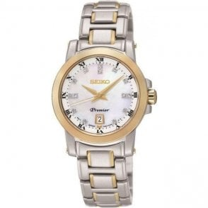 Seiko Ladies Premier Quartz Watch SXDG02P1