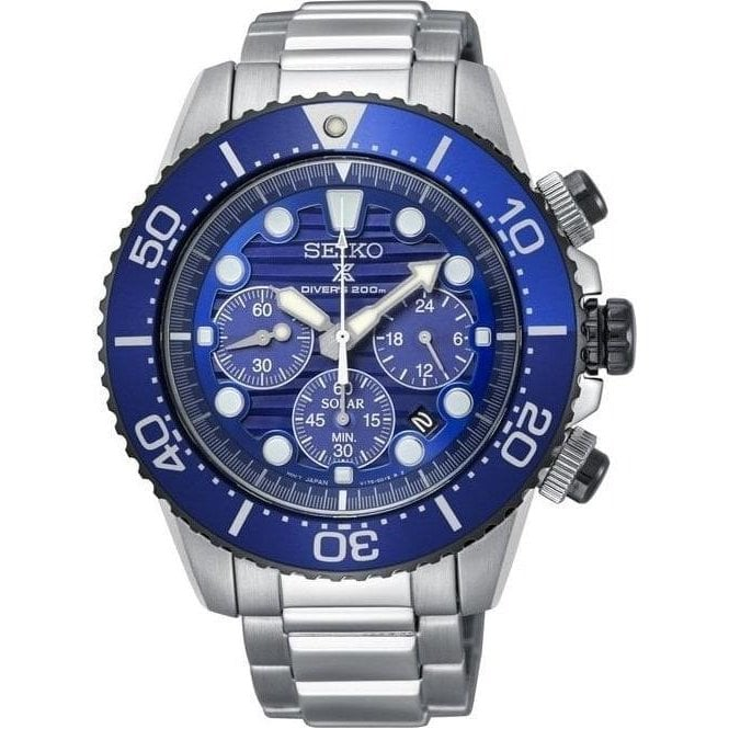 Seiko Watches Seiko Save the Ocean prospex special edition watch SSC675P1