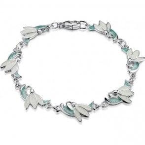 Sheila Fleet Snowdrop Leaf Bracelet EBL226