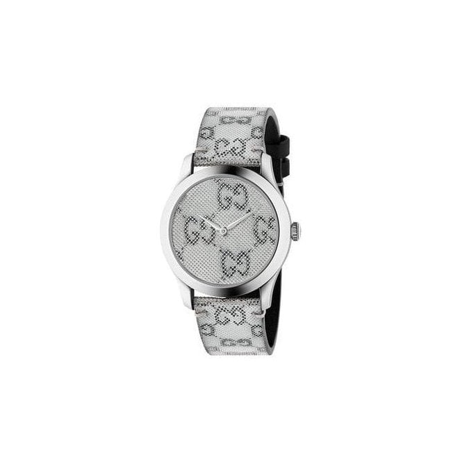 Gucci Stainless steel G-Timeless strap watch, YA1264058