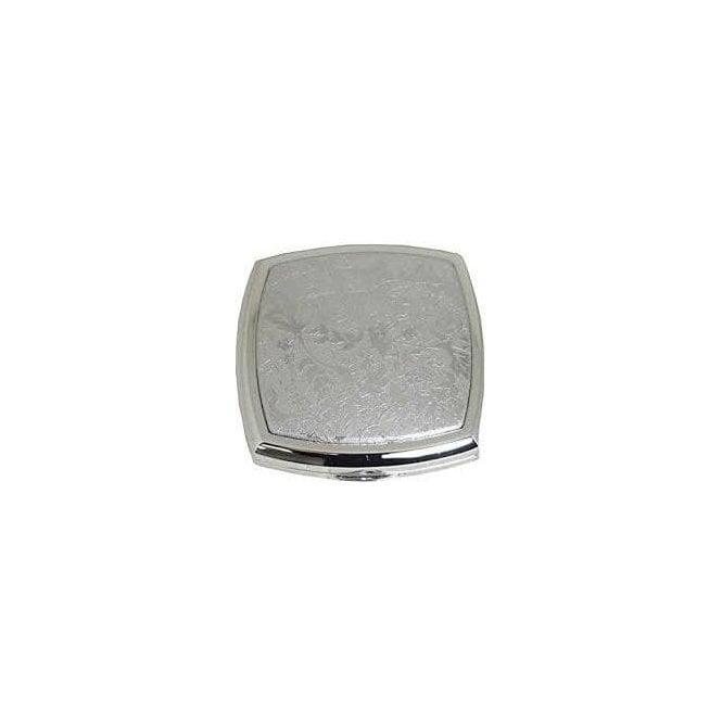 Stratton silver coloured compact mirror, ref ST1132