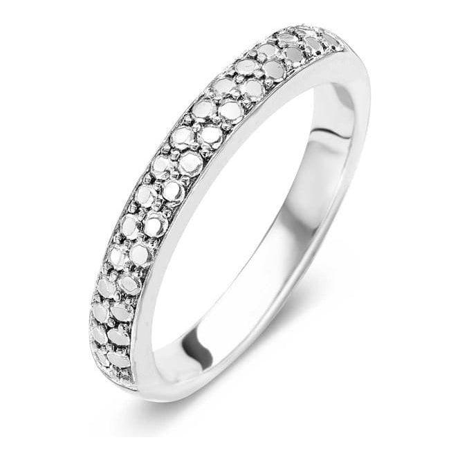 Ti Sento Silver 2mm Ring