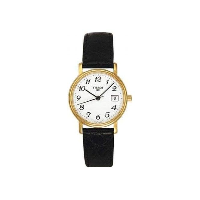 Tissot Watches Tissot Desire Ladies Gold Plated Watch